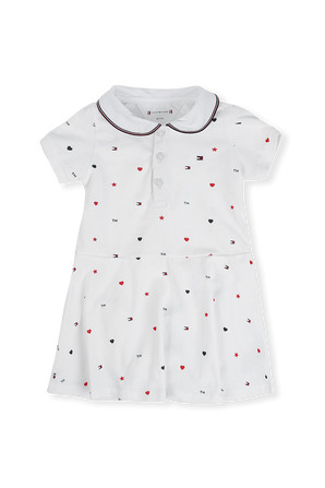גילאי 0-24 חודשים מארז שמלה פלוס תחתונים תואמים TOMMY HILFIGER KIDS