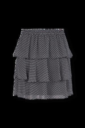 Floral print tiered mini skirt MICHAEL KORS