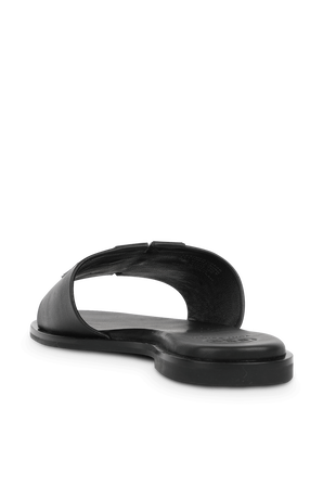 Ines Slides in Black TORY BURCH