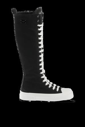 High Top Sneakers in Black DOLCE & GABBANA