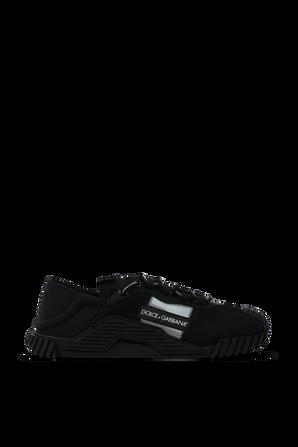 Slip On Combo Sneakers in Black DOLCE & GABBANA
