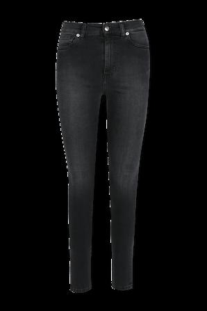 Allone Skinny High Waist Washed Black Jeans IRO