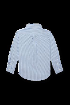 גילאי 2-4 חולצת פולו פסים מכופתרת קלאסית POLO RALPH LAUREN KIDS