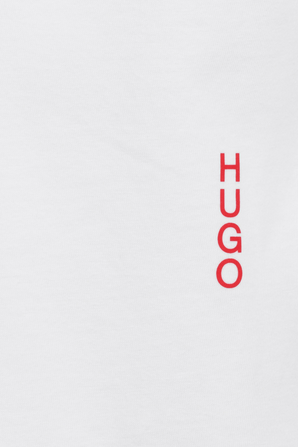 2 Pack Cotton Shirt in White HUGO