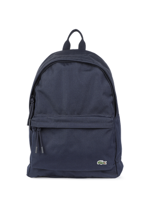 Canvas Backpack In Red LACOSTE