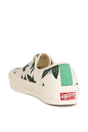 Vans Vault Authentic LX in White and Green VANS