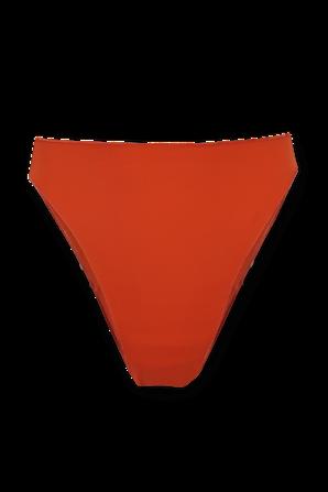 Eco Basic Bikini Bottom in Orange OSEREE