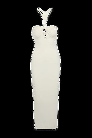 Sunny Midi Dress in Ivory RONNY KOBO