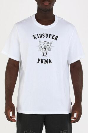 PUMA X KIDSUPER STUDIOS Tee in White PUMA