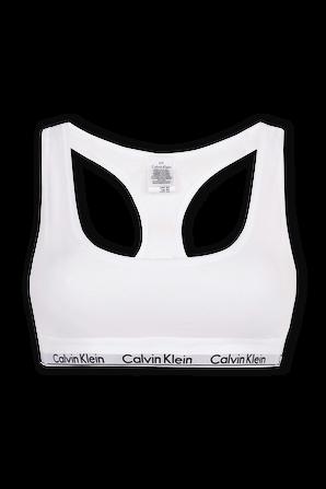 Modern Cotton Bralette in White CALVIN KLEIN