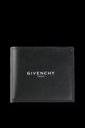 Billfold Logo Wallet In Black GIVENCHY