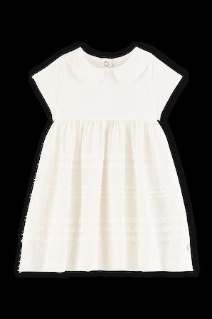 גילאי 6-24 חודשים שמלה בגווני פסטל עם חצאית טול PETIT BATEAU
