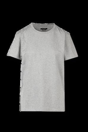 Grey Annax Back Logo Print Tee ISABEL MARANT