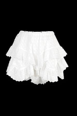 Teocadia Shorts in White ISABEL MARANT