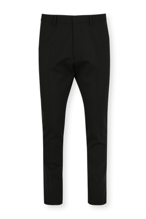 Tropical Stretch Wool Hockney Pants in Black DSQUARED2