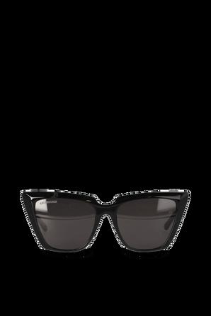 Tip Cat Sunglasses in Black BALENCIAGA