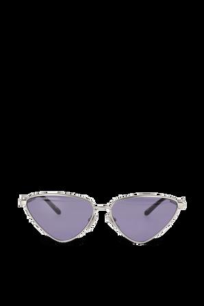 Reverse Cat Sunglasses in Purple BALENCIAGA