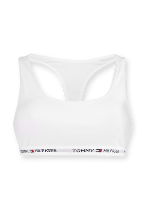 Pull On Race Back Bra in White TOMMY HILFIGER