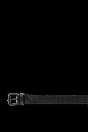 Belt With Black Leather Trims LEVI`S