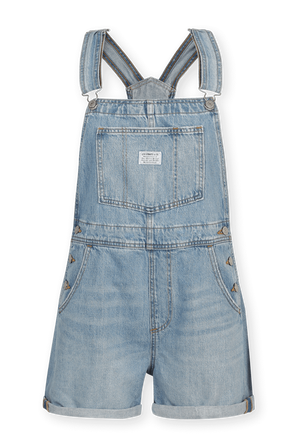 Short Overall Jeans in Vintage Blue LEVI`S