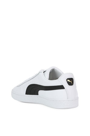 Basket Legacy Vintage Sneakers in White and Black PUMA