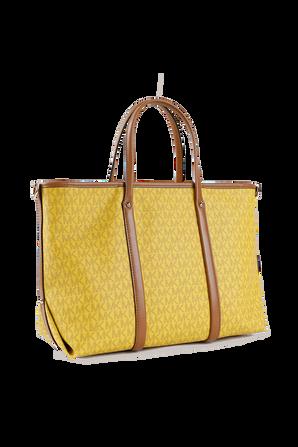 Beck MD Logo Tote Bag in Honey MICHAEL KORS