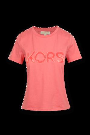Logo T-Shirt in Rose MICHAEL KORS