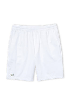 Tennis Stretch Shorts in White LACOSTE