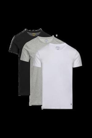 3 Pack Cotton T-Shirts POLO RALPH LAUREN