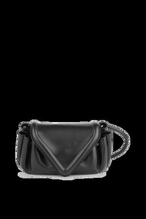 Beak Cross-Body Bag in Black BOTTEGA VENETA