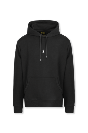 Central Pony Embroidery Hoodie in Black POLO RALPH LAUREN