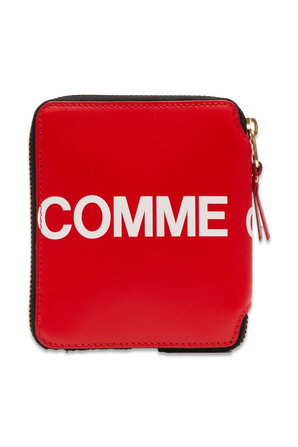 Hugo Wallet in Red COMME des GARCONS