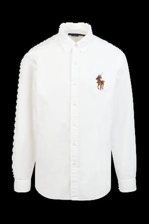 Button Down Classic Shirt in White POLO RALPH LAUREN