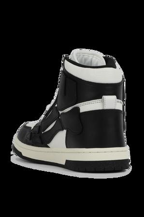 Skel Top High in Black and White AMIRI
