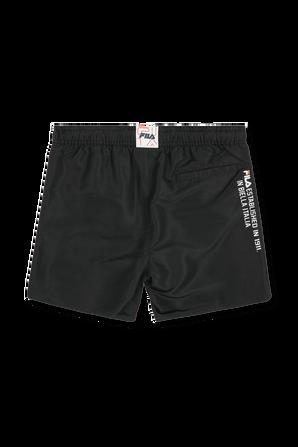 גילאי 2-8 מכנסי גלישה בשחור FILA