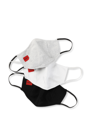 Three Pack Logo Mask HUGO