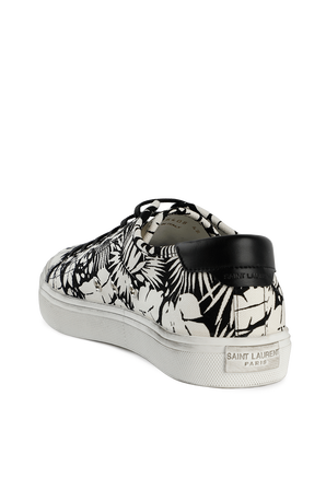 Malibu Sneakers with All-Over Print SAINT LAURENT