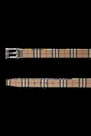 Vintage Leather Belt BURBERRY