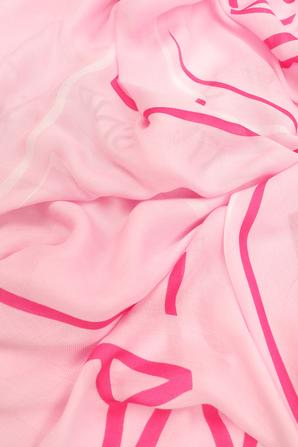 Square Logo Scarf in Pink CALVIN KLEIN