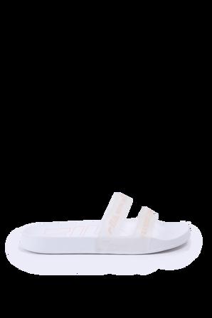 מידות 28-35 כפכפי סליידס בלבן וניוד FILA