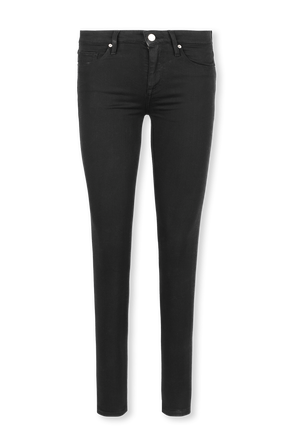 מכנסי סקיני ג'ינס בשטיפה שחורה TOMMY HILFIGER