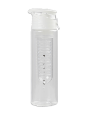 Water Bottle in White FACTORY 54