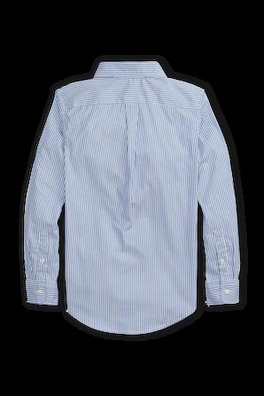 גילאי 8-16 חולצת כפתורים קלאסית בתכלת POLO RALPH LAUREN KIDS