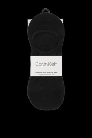 2Pack Socks in Black CALVIN KLEIN