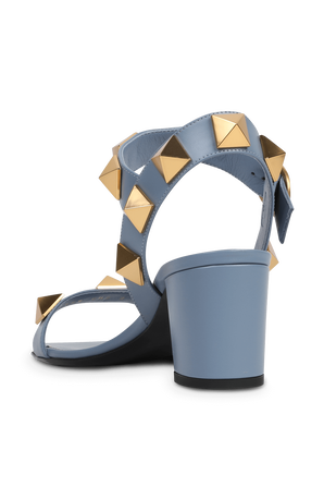 Stud Runway Sandals in Blue VALENTINO GARAVANI