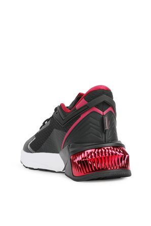 Provoke XT FTR Sneakers in Black and Red PUMA