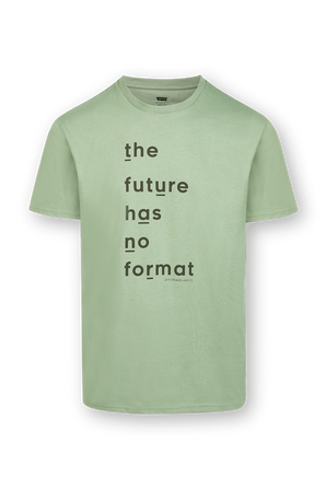 The Future Graphic Tee in Green LEVI`S
