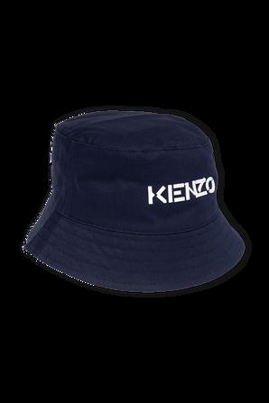 כובע באקט כחול לוגו קנזו KENZO KIDS