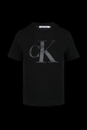 Logo T-Shirt in Black CALVIN KLEIN