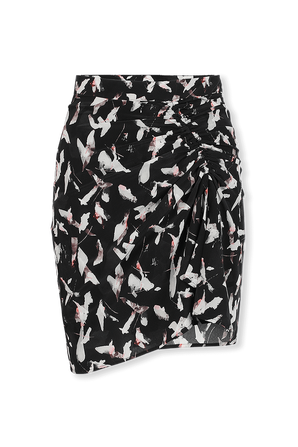 Ciara Mini Skirt in Black  IRO